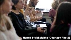 Падчас Міжнароднага фэстываля квір-гісторыі «Dotyk» у Менску