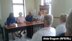 Sastanak predstavnika Sindikata radnika u zdravstvu Kantona Sarajevo sa predstavnicima vlasti