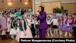 Ләйсән Җәмдиханова Mәскәүдә татар балалары өчен кичә уздыра