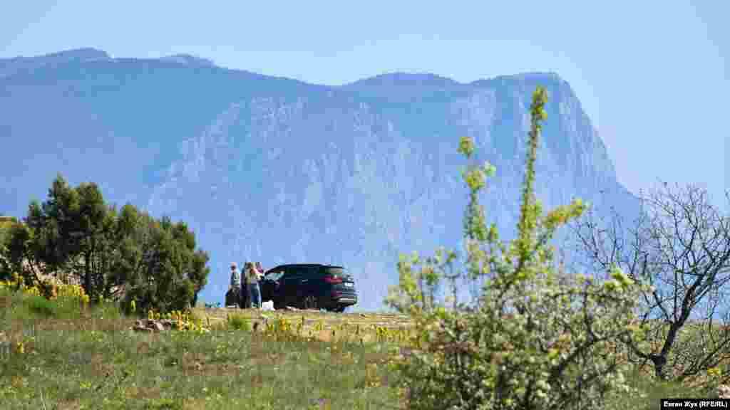 Севастопольцы выехали на прогулку на высоты Кая-Баш
