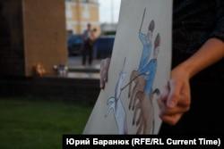 """""""Марш матерей"""" в Петербурге в августе прошлого года"""