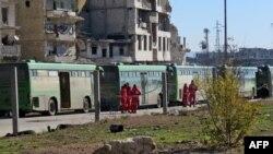 Эвакуация из Алеппо, 15 декабря 2016 года