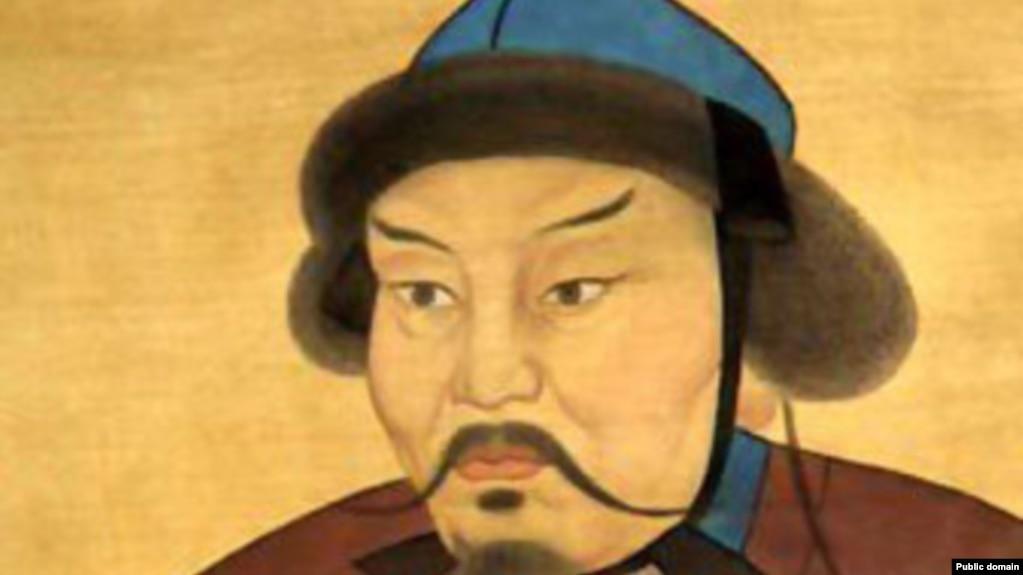 Хан Батый. Изображение из средневековой летописи