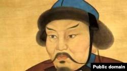 Хан Батый. Изображение из средневековой летописи.