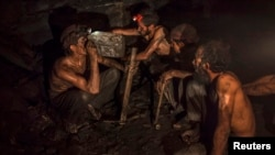 File photo of a coal mine in Pakistan.