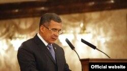 Tatar President Rustam Minnikhanov
