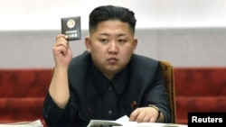 North Korean leader Kim Jong Un