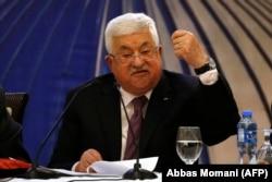 Махмуд Аббас комментирует план, предложенный Дональдом Трампом