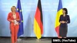 Julia Klöckner şi Violeta Alexandru la Berlin (Foto: BMEL/Youtube)