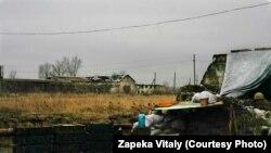 Облаштована позиція бійців батальйону «Полтава»