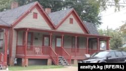 منزل مارتن لوثر كنغ في أتلانتا بولاية جورجيا