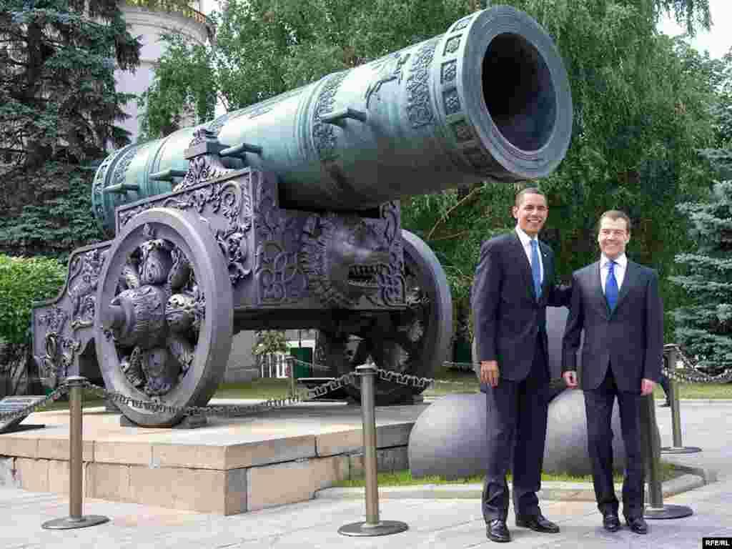 США хотят видеть Россию сильной и процветающей, заявил Барак Обама