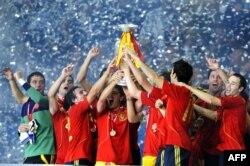 Son Avropa çempionu - İspaniya