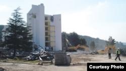 Radovi na Blue Horizon Hotelu, investitor Qatari Diar, Tivat, foto: Vijesti/Siniša Luković