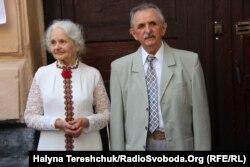 Брат Михайла Гориня Богдан Горинь з дружиною