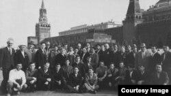 Активисты национального движения крымскотатарского народа в Москве, 1967 год