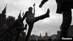 Proba vojne parade u Moskvi, ilustrativna fotografija