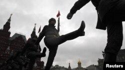 Moskvada hərbu parad - 2013