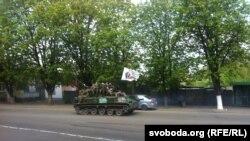 Ситуация в Славянскн, 24 апреля 2014