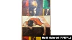 لوحة للفنان ستار عطشان