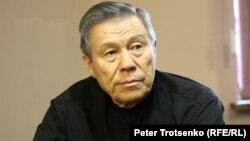 Жоғарғы сот төрағасының бұрынғы орынбасары Тагир Сейсенбаев. Алматы, 7 желтоқсан 2016 жыл.