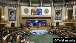 جانب من المؤتمر الدولي لمكافحة الإرهاب بطهران