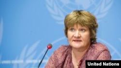 Портпаролот на Светската метеоролошка организација, Клер Нулис