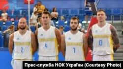 Чоловіча збірна України з баскетболу. Матч проти збірної Франції