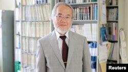 Ýapon alymy Ýoşinori Ohsumi