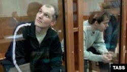 По версии обвинения, основными фигуранты дела являлись Максим Панарьин (слева) и Тамбий Хубиев