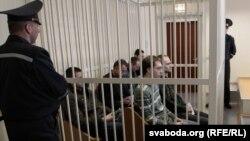 У залі суду ў траўні 2011
