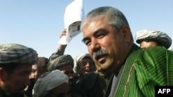 Узбекский генерал Абдул Рашид Дустум.