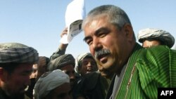 General Abdurashid Do'stum 2014 yilgi saylovlarda vitse-prezidentlikka da'vogar.