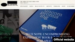 Blue Note. Logo