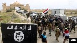 طلائع من القوات العراقية تدخل الى تكريت