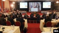 Деветата годишна министерска конференција за соработка на полето на граничната безбедност во Југоисточна Европа во Скопје.