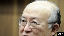 International Atomic Energy Agency chief Yukiya Amano