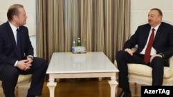 İ.Əliyev Maltanın baş naziri J.Muscat-ı qəbul edir. 2015