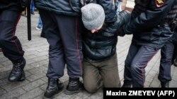Задержания в центре Москвы, 5 ноября 2017 года