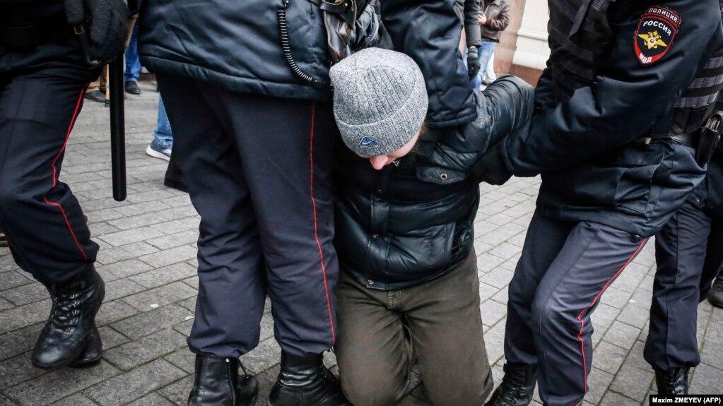 Задержание 5 ноября в Москве