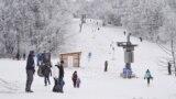 Гора Ай-Петри в новогодние праздники, 6 января 2020 года