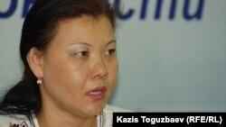 Шугыла Пралиева, бывшая военнослужащая воинской части 65229. Алматы, 19 мая 2014 года.
