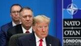 Președintele Statelor Unite, Donald Trump, și secretarul american de stat, Mike Pompeo