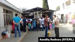 Foto: arxiv, Astara Gömrük Keçid Məntəqəsi