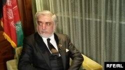 عبدالله عبدالله رئیس اجرائیه حکومت وحدت ملی