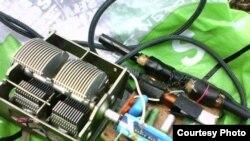 Кулдан ясалган транзисторлы радиоалгыч