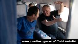 Владимир Балух и Эдем Бекиров летят в Киев. 7 сентября 2019 года