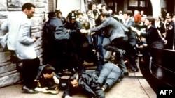 Покушение на Рональда Рейгана 30 марта 1981 года, во время которого был тяжело ранен Джеймс Брэйди.