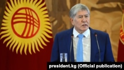Kyrgyz President Almazbek Atambaev also criticized long-ruling Kazakh President Nursultan Nazarbaev for holding power for decades.