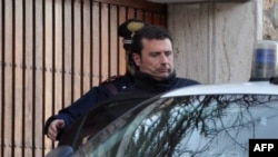 """Costa Concordia"" Captain Francesco Schettino has denied abandoning ship."